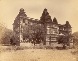 Back of the Raja Mahal (south-west), Chandragiri, North Arcot District